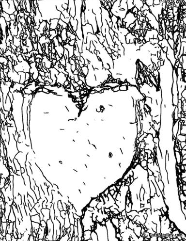 Free valentines coloring sheet